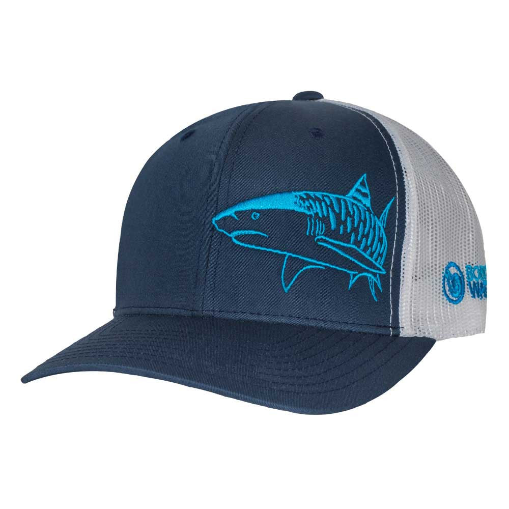 Tiger Shark Scuba Diving Trucker Hat - Navy