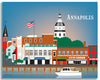 Annapolis canvas wrap print