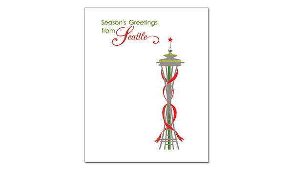 SALE of Seattle, Washington - Season's Greetings