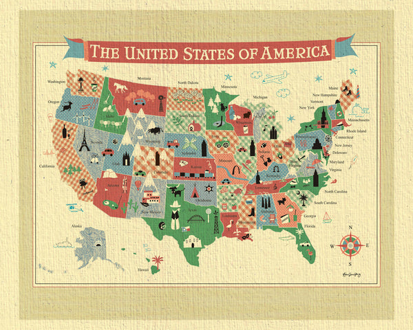 SALE of United States Map