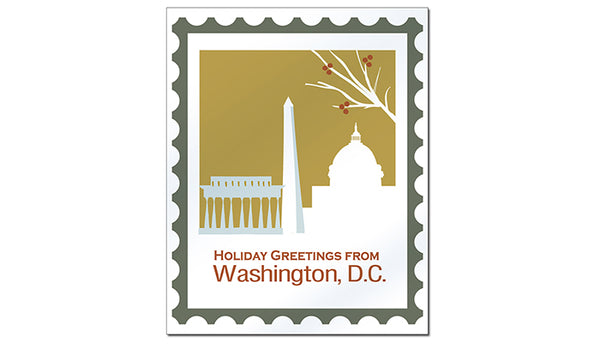 SALE of Washington D.C. - Holiday Greetings
