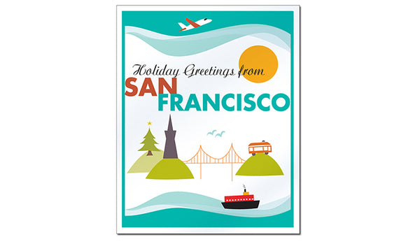 SALE of San Francisco - Holiday Greetings