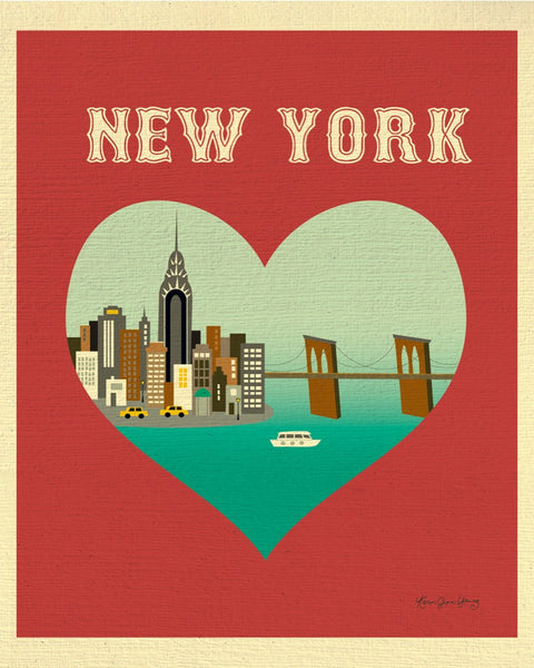 New York, New York - Heart