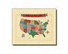 SALE of Hello From Minneapolis MN USA Map Card