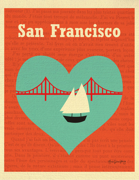 SALE of San Francisco - Heart