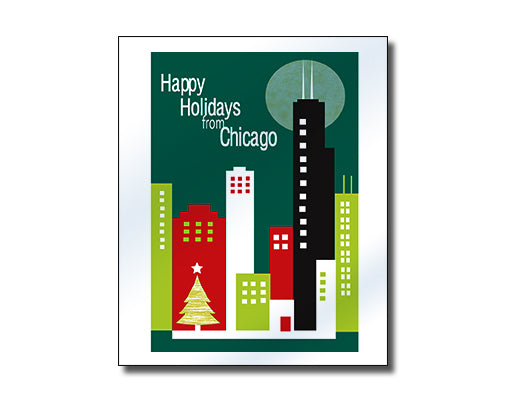 SALE of Chicago, Illinois - Holiday Greetings
