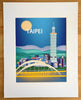 SALE of Taipei, Taiwan - MATTED PRINT