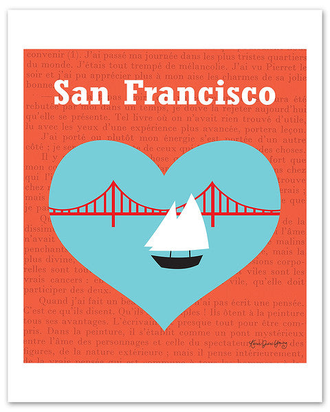 San Francisco, California - Heart