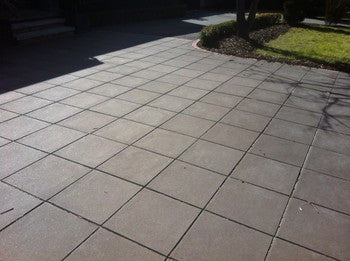 Shotblast pavers