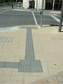 Tactiles and Directional Pavers