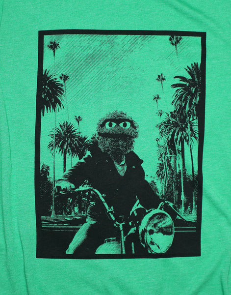 sesame street t-shirt - Hollywood Grouch -James Dean Mashup Tee