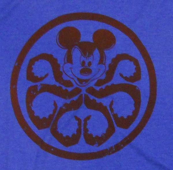 mickey mouse marvel disney mash-up t-shirt hydra mickey mash-up tee