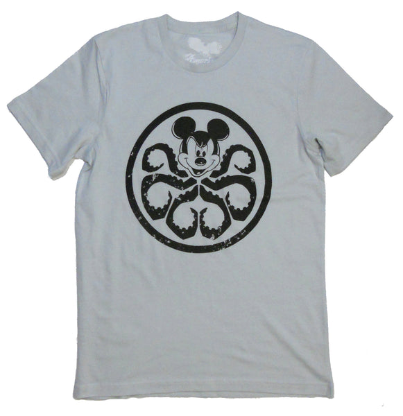 mickey mouse marvel disney t-shirt hydra mickey mash-up tee