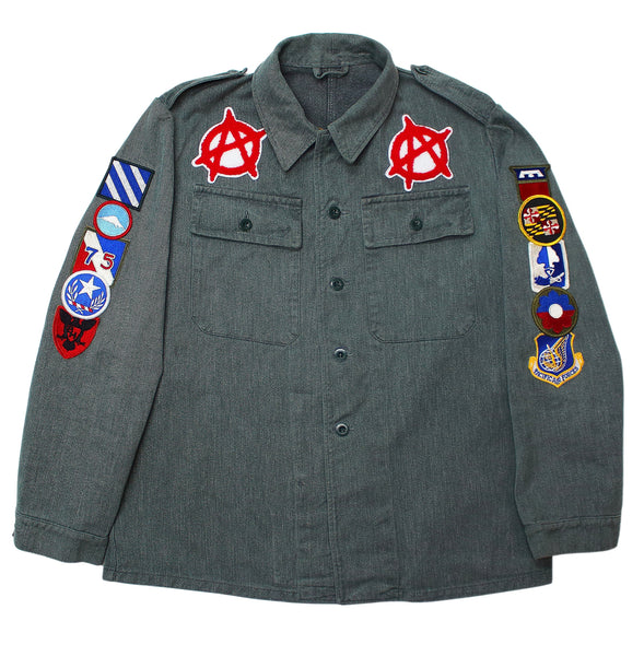Vintage WWII Era Swiss Denim Jacket x American Anarchy Brand