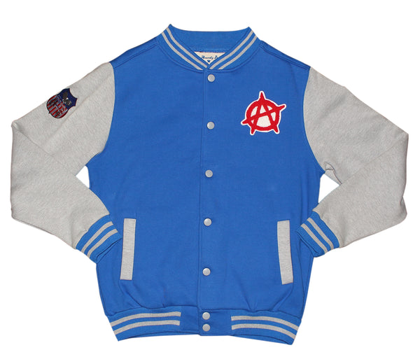 baseball jacket raglan - athletic street wear - sports team jacket