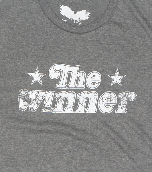 vintage 70s , 80s t-shirt - The Winner - retro apparel street wear