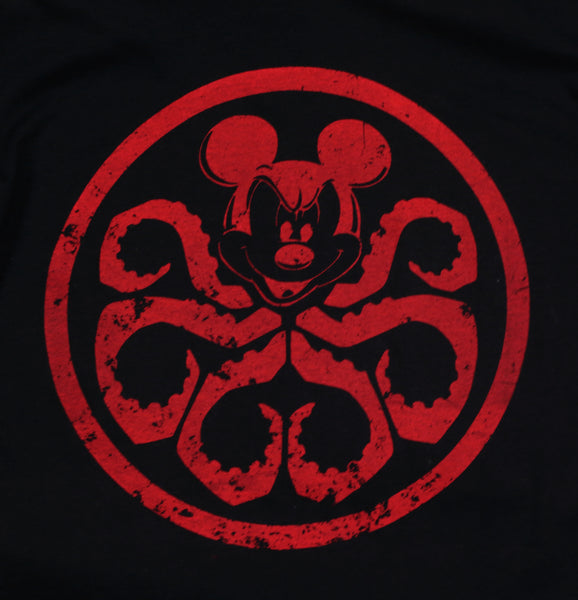 disney marvel mashup t-shirt mickey mouse hydra t-shirt