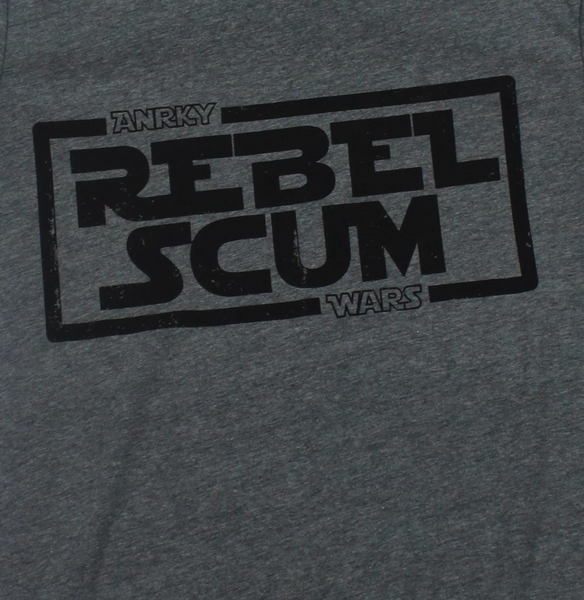 Rebel Scum x Star Wars Tee Shirt x ANRKY Wars x Star Wars Rebel Graphic T-shirt