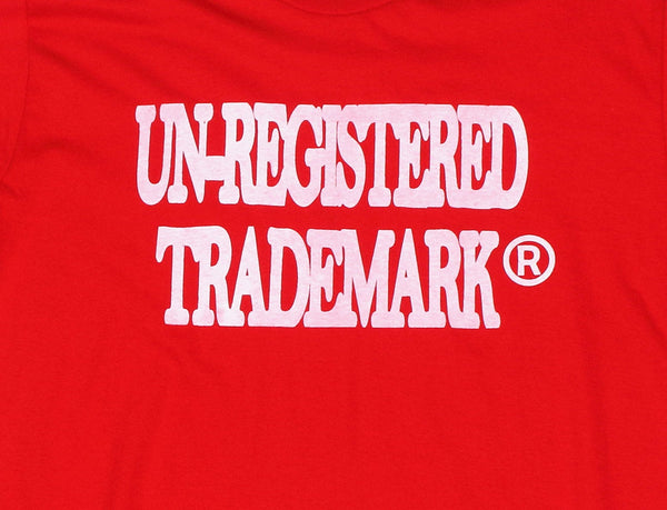 Un-Registered Trademark x Red Graphic Tee Shirt