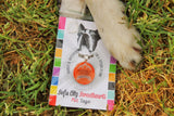 Beach Ball Summer Personalized Dog ID Pet Tag Custom Pet Tag You Choose Tag Size-Sofa City Sweethearts-Sofa City Sweethearts