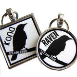 Raven Pet ID Tag-Sofa City Sweethearts-Sofa City Sweethearts