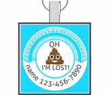 OH S**T I'M LOST! Pet ID Tag-Sofa City Sweethearts-Sofa City Sweethearts