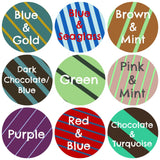 Bold Stripes Pet ID Tag- 9 Colors-Sofa City Sweethearts-Sofa City Sweethearts