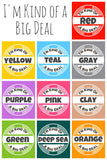 BIG DEAL Ecoplastic Pet ID Tag- Choose from many colors.-Sofa City Sweethearts-Sofa City Sweethearts