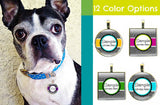 Modern Zig Zag Pet ID Tag-Sofa City Sweethearts-Sofa City Sweethearts