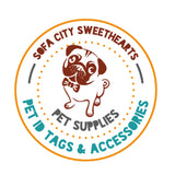 2pc Solid Color (Simple font) TWIST TAG- Silent, Eco-Friendly, Ringless & Silent ID Tag for Cats and Dogs-Sofa City Sweethearts-Sofa City Sweethearts