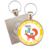 For Fox Sake Pet ID Tag-Sofa City Sweethearts-Sofa City Sweethearts