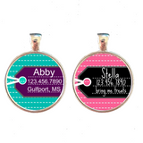 Luggage Tag Inspired Pet ID Tag-Sofa City Sweethearts-Sofa City Sweethearts