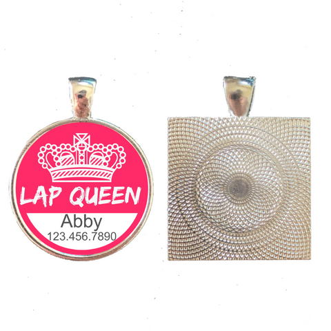 LAP QUEEN Pet ID Tag