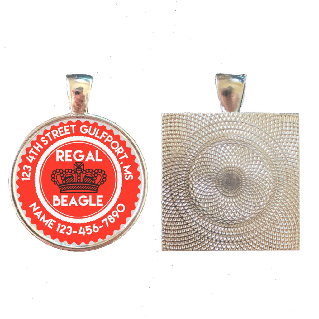 REGAL BEAGLE Pet ID Tag-Sofa City Sweethearts-Sofa City Sweethearts