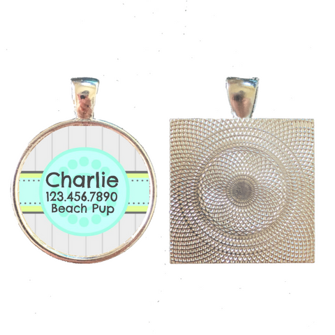 Beach House Pet ID Tag