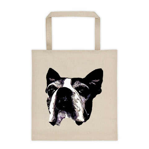 Lilly Tote bag- Boston Terrier