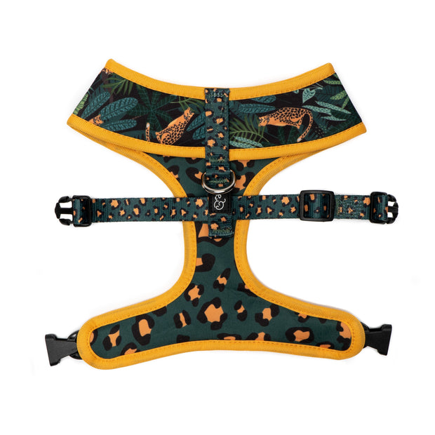The Jungle Vibes Reversible Harness 1