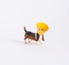 Ice Cream Cone Dog Print: Basset Hound