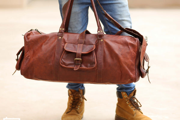 Top 6 Leather Duffel bags