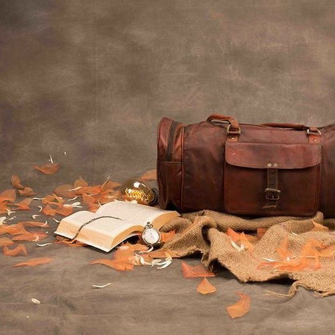 Antique Leather Duffle
