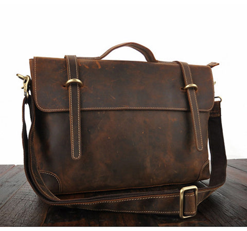 Full Grain Cowhide Briefcase
