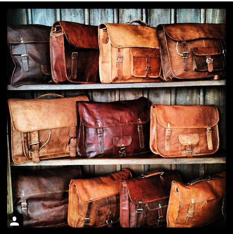 Wholesalers And Manufacturers Of Leather Bags From India High On Leather