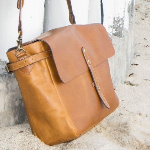 Cowhide Leather Messenger