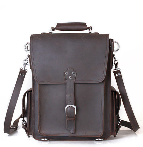 Saddle Leather Backpack
