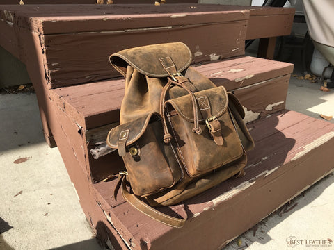 Leather 2021 Backpack