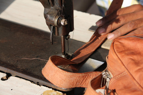 Making of a Leather Bag