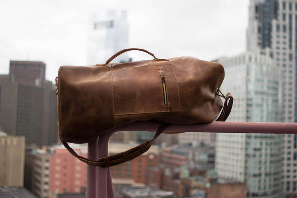 Full Grain Leather Duffel