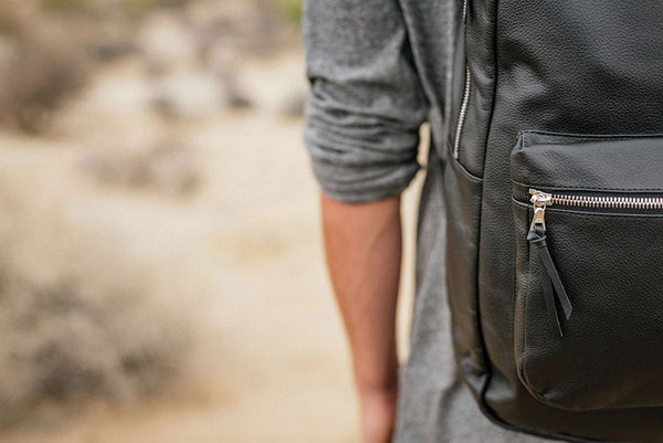 Leather Backpacking