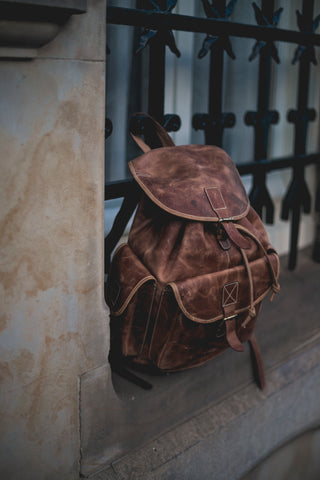 Leather Laptop Backpack On A Budget