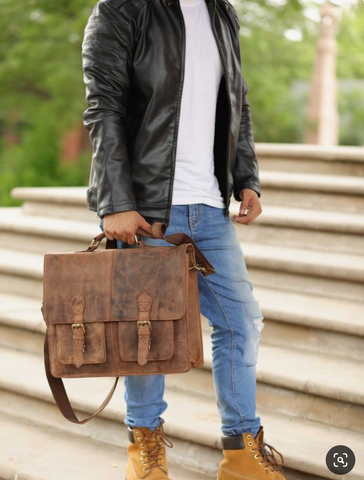 Luxury Leather Briefcases for Men